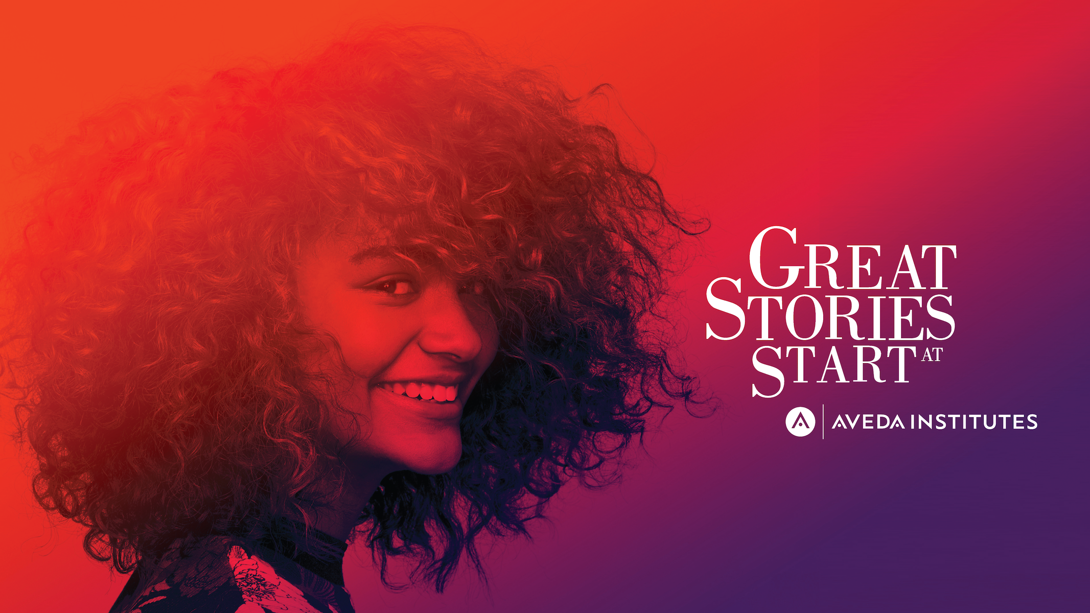 Great Stories Start at Aveda Institutes